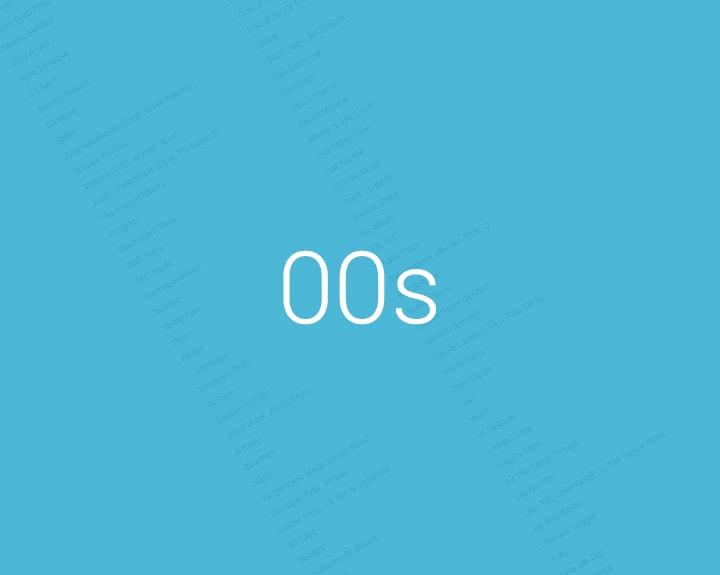 00s Music List