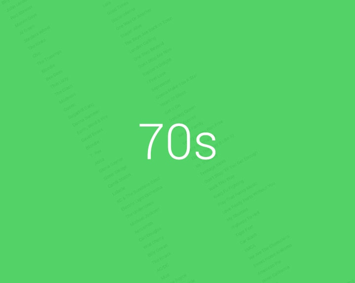 70s Music List