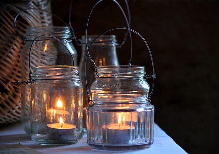 Candlelight Mason Jars
