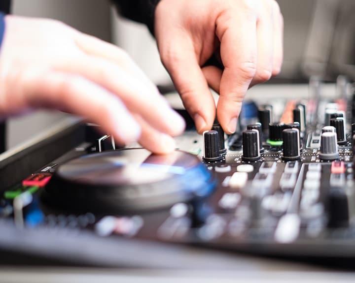 DJ Mixing Controller