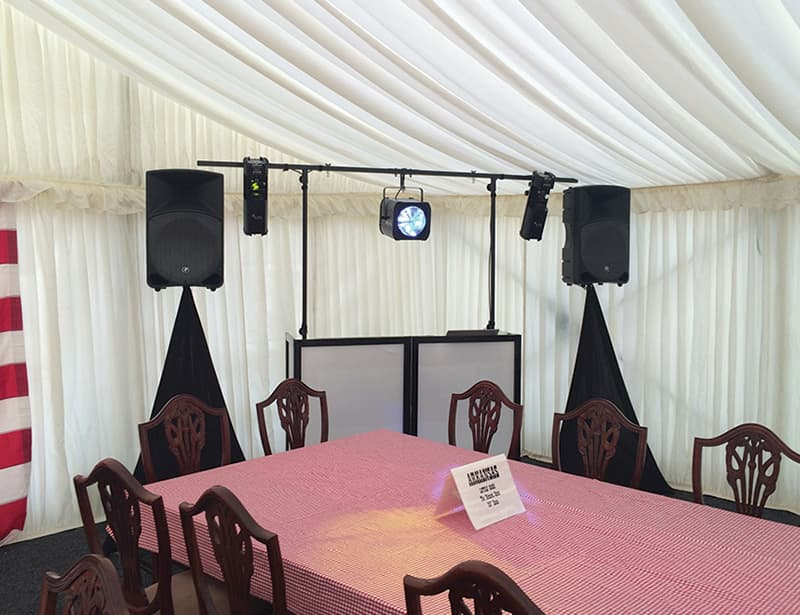 Marquee Disco Hire
