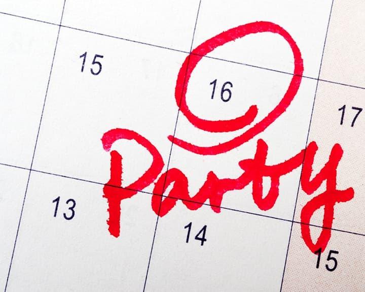Party Date Calendar