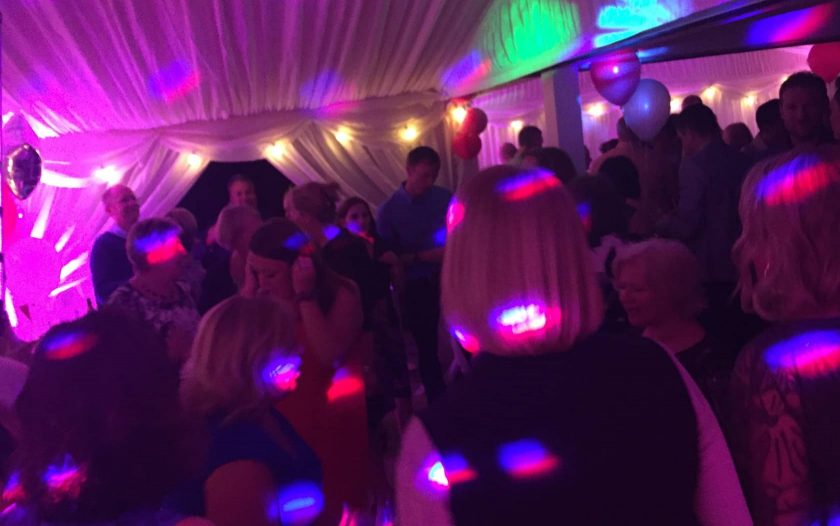 Party Guests Dancing