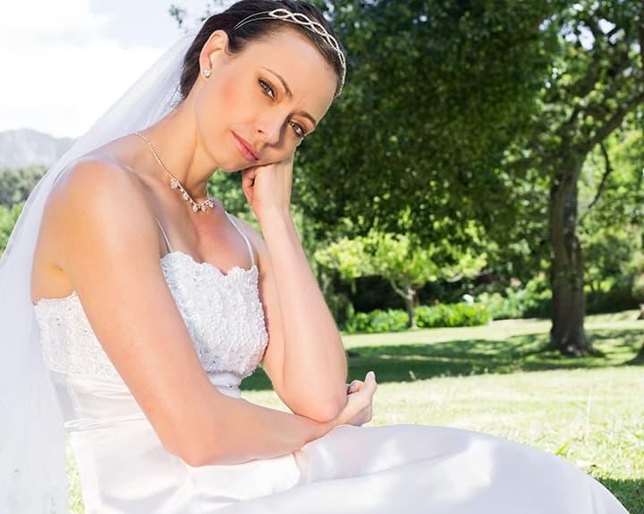 Stressed Bride