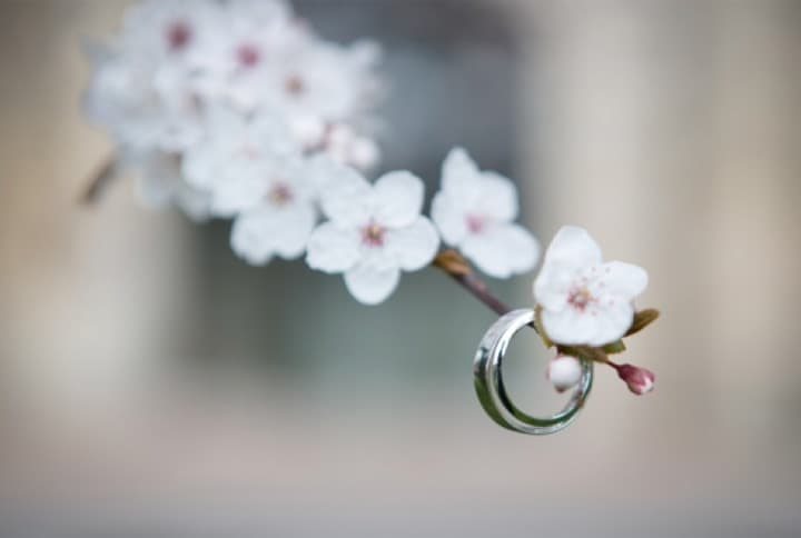 Wedding Ring In Spring
