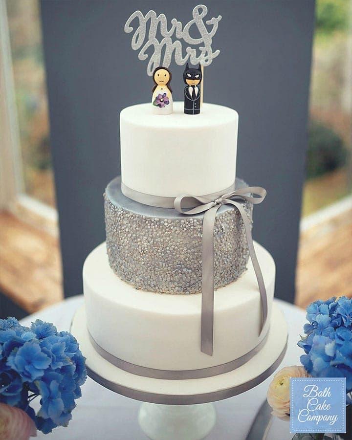 Winter Wedding Style Cake